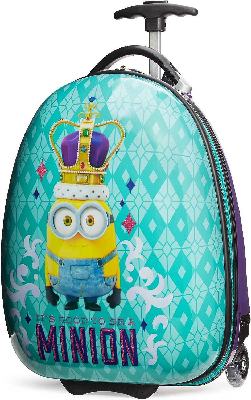 Travelpro Minions Kid s Hardside Luggage, Turquoise Purple