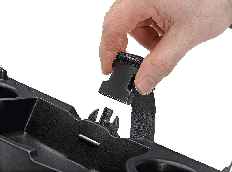 Hailo L100 TopLine /Échelle de s/écurit/é en aluminium avec coque multifonction /étrier de maintien de s/écurit/é et verrouillage de plate-forme pour une s/écurit/é au format XXL 130 mm
