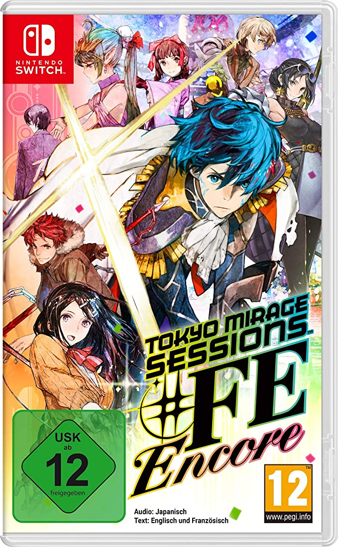 Tokyo Mirage Sessions # Encore. Nintendo Switch