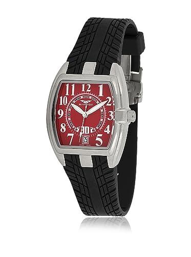 Sandoz 81254-07 - Reloj Fernando Alonso Señora negro/rojo: Amazon.es: Relojes