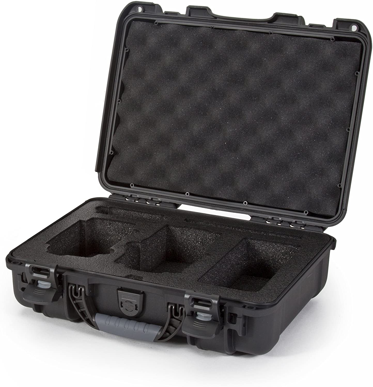 Nanuk Drone Waterproof Hard Case with Custom Foam Insert for DJI Mavic Air - Black