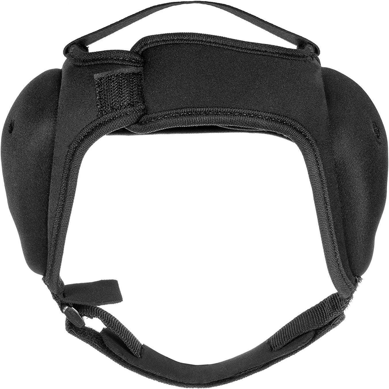 Black Roar Ear Guard BJJ Headgear MMA Grappling Fight Sparring Helmet