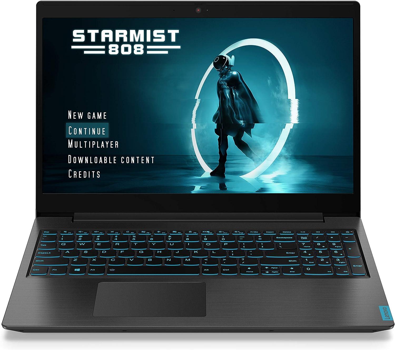 Lenovo Ideapad L340 Gaming Laptop, 15.6 Inch FHD (1920 X 1080) IPS Display, i5-9300H, 8GB DDR4 RAM, 512GB Nvme SSD, NVIDIA GeForce GTX 1650, Windows 10, Black (Renewed)