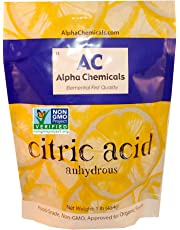Non-GMO Project Verified Citric Acid - 1 Pound – Organic