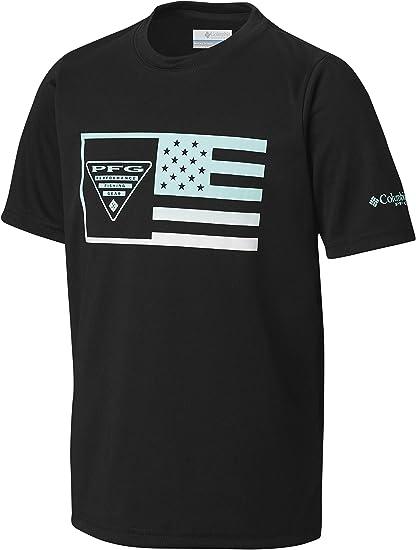 Columbia Boys PFG/Stamp Short Sleeve Shirt