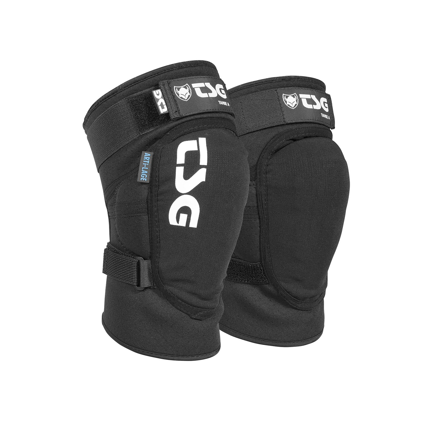 TSG - Kneeguard Tahoe A Pads for Bicycle (Black, M)