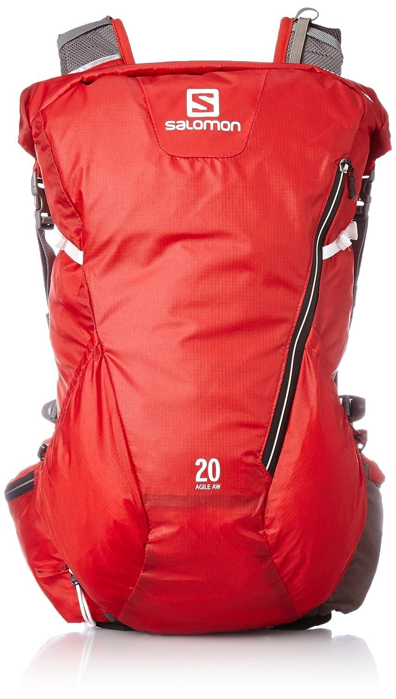 [サロモン] ランニングハイドレーションバック AGILE 20 AW メンズ  BRIGHT RED/White B00RKUYXQ0