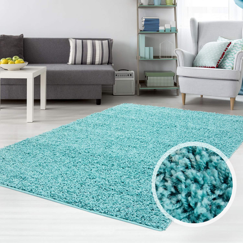 Carpet city Teppich Shaggy Hochflor Hochflor Hochflor Langflor Flokati Einfarbig Uni aus Polypropylen in Dunkelgrau für Wohn-Schlafzimmer, Größe  300x400 cm B01HF6VM5S Teppiche c82ddf