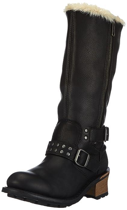 Cat Footwear Florencia, Botas Biker para Mujer, Womens Black, 37 EU: Amazon.es: Zapatos y complementos