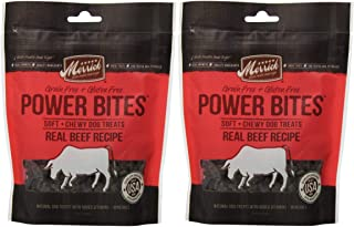 product image for Merrick Beef Power Bites Made in USA 2 Pack 12 Ounces Total Dog Treats Training