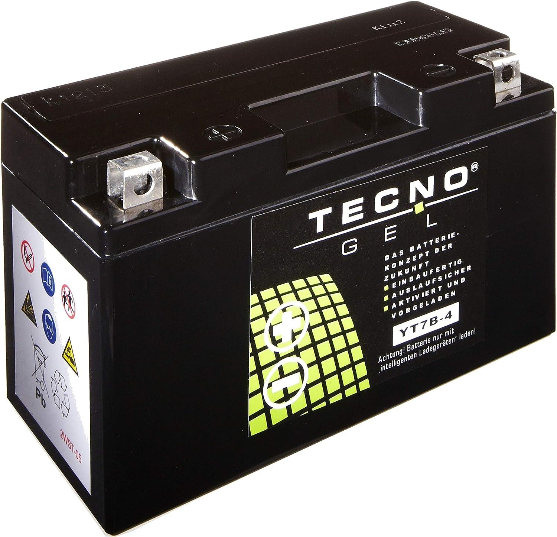 Tecno YT7B-4 Gel Batterie DS 450 MXC EFI 2009