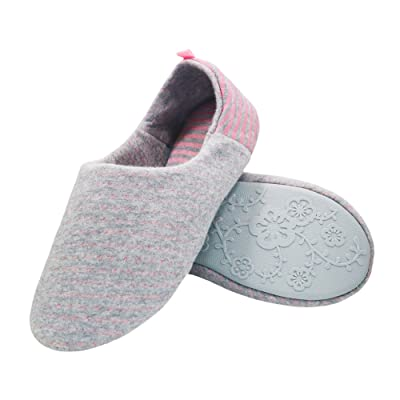 Thgonwid Women's Comfortable Warm Cotton Waterproof Yoga House Slippers Shoes | Slippers