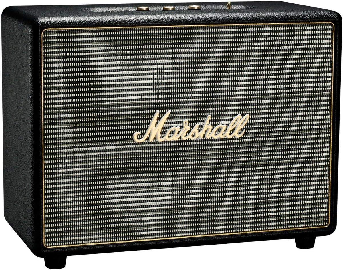 Marshall Woburn - Altavoz con Bluetooth, Color Negro