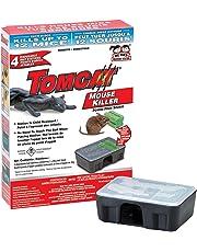 Tomcat Mouse Killer - 4 Child and Dog Resistant Bait Stations Containing 28 Gram Bait Blocks