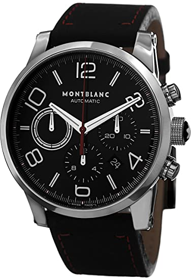 Montblanc Timewalker Chronograph Automatic Mens Watch 109345