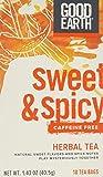 Good Earth Original Tea, 18 Tea Bags - Decaffeinated Sweet and Spicy Blend (3 Packs)