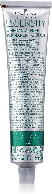 Schwarzkopf Essensity 7-77 Paquete medio rubio cobre 1er adicional (1 x 60 ml)