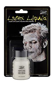 Mehron Makeup Liquid Latex (1 oz) (Clear Flesh)