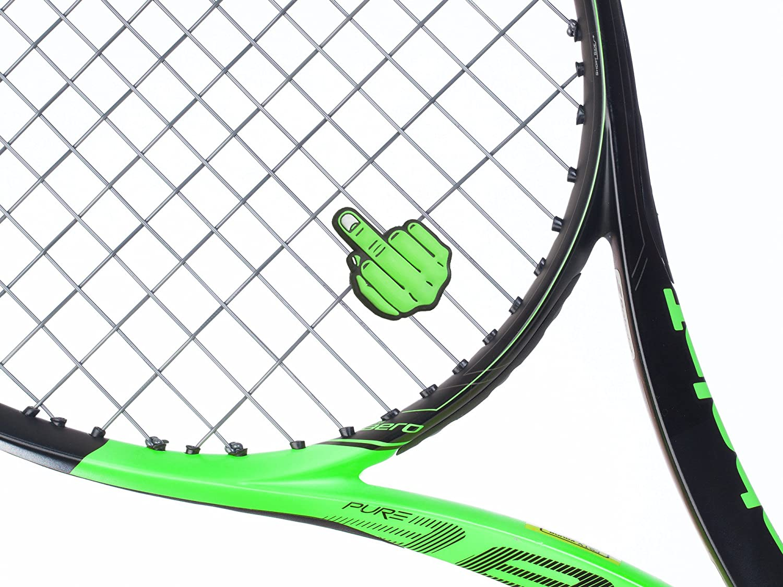 2//& 5/Packungen Mittelfinger Tennis Vibration D/ämpfer von Schl/äger Expressions
