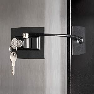 Guardianite Premium Refrigerator Door Lock with Built-in Keyed Lock