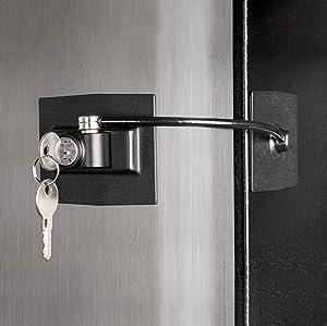 Guardianite Premium Refrigerator Door Lock with Built-in Keyed Lock