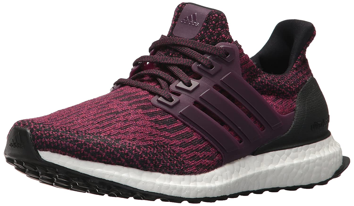 adidas Women's Ultraboost W Running Shoe B06XWSZXT9 6.5 B(M) US|Red Night/Red Night/Black