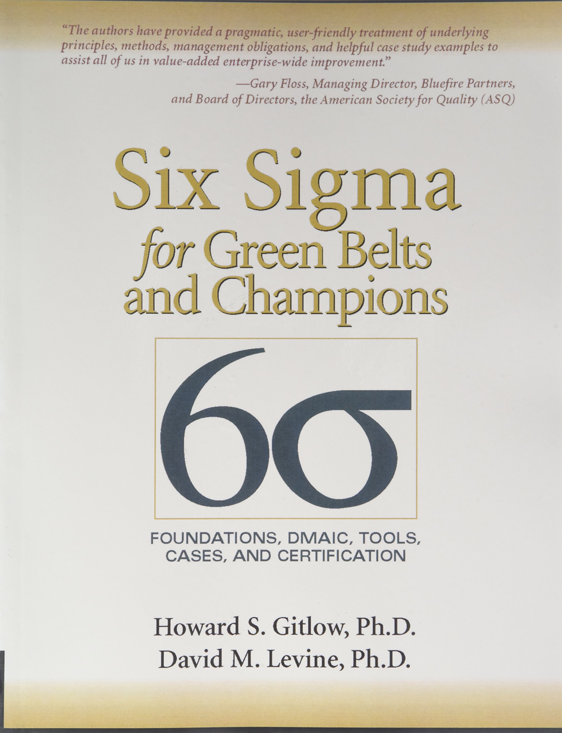 Amazon Six Sigma For Green Belts And Champions Foundations