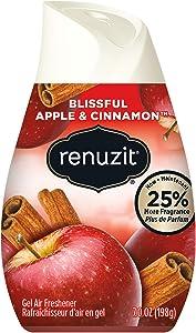 Renuzit Air Freshener, Apple and Cinnamon, 7 Ounce