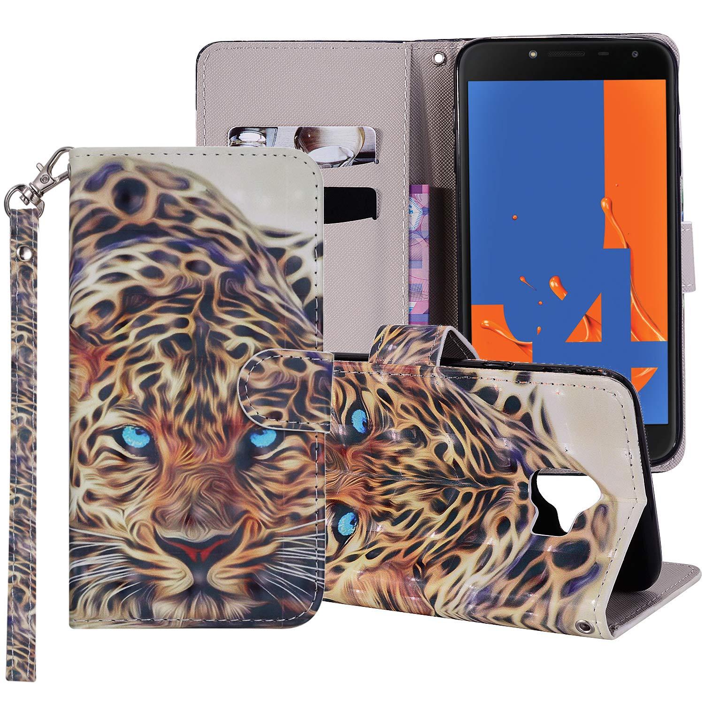 Coque pour Samsung Galaxy J4 2018 Smart Silicone PU Bumper Unique Design Souple PU Soft Cover Effacer Clair transparent Etui Housse Case (+Outdoor boussole trousseau) R1 (8)