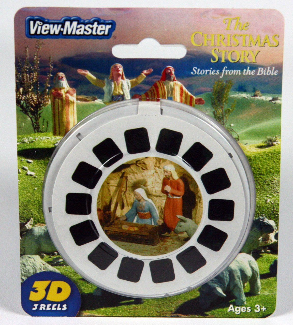 Viewmaster Reel set of 3 Christmas Story from the Bible by View Master (Image #1)