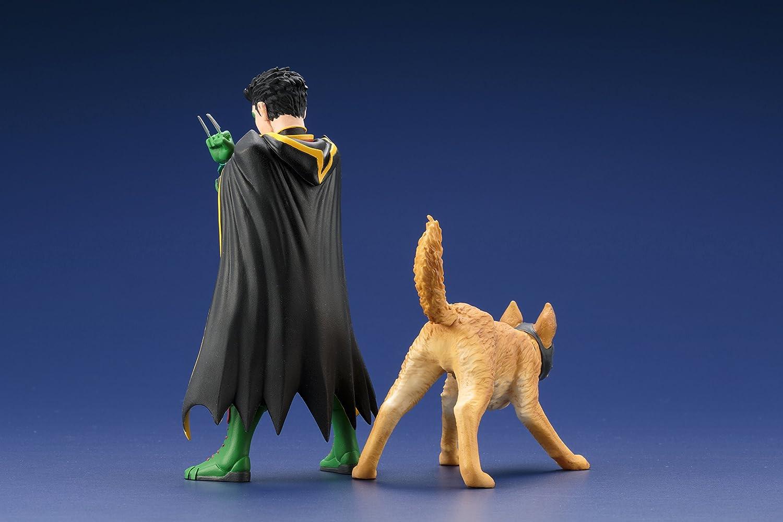 DC Comics SV222 Universe Robin and Bat-Hound Artfx Statue