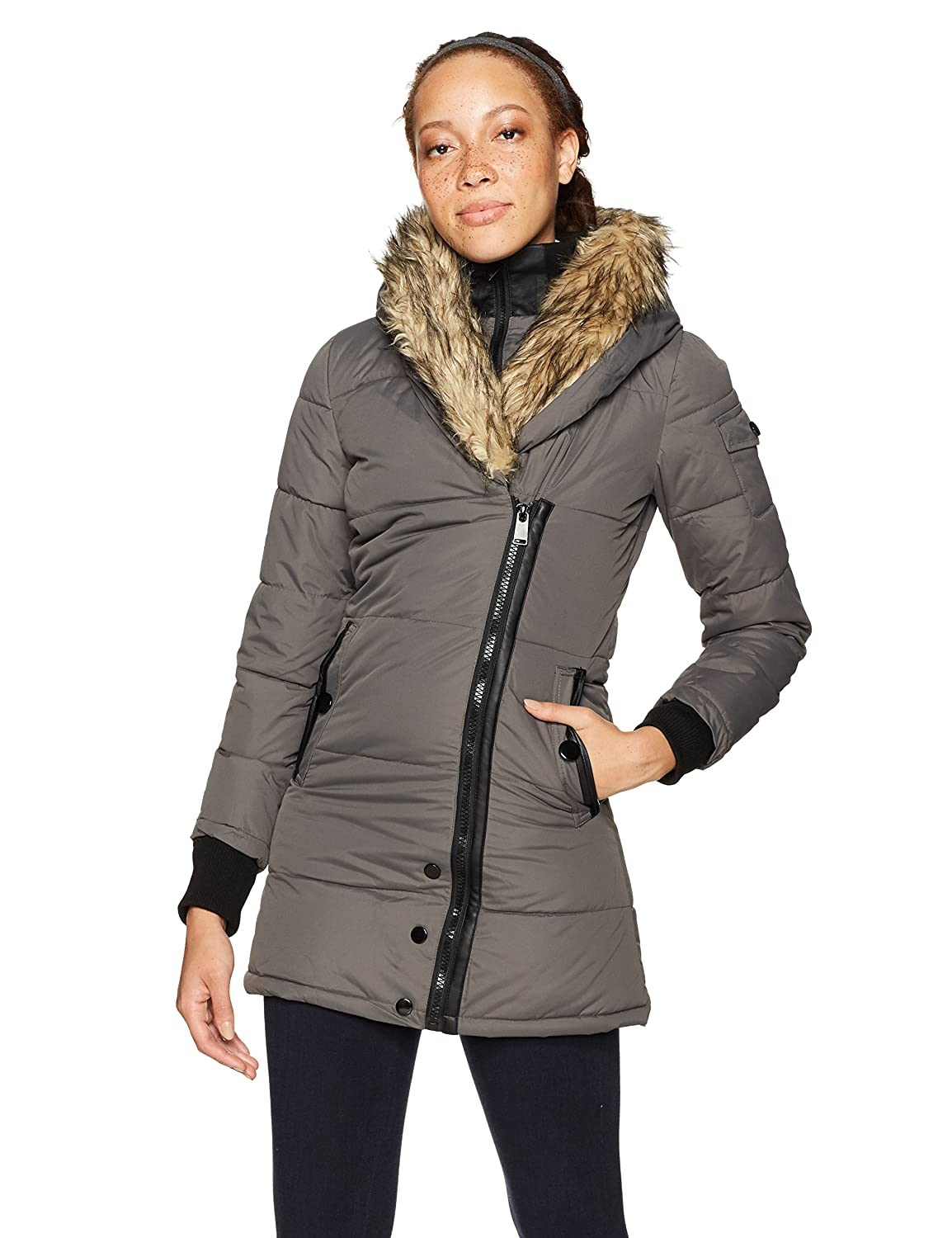 Celsius OUTERWEAR レディース B073WCQG4D Small|スチール スチール Small