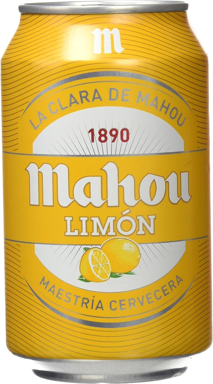 Mahou - Cerveza de Limón, Lata 330 ml: Amazon.es: Alimentación y bebidas