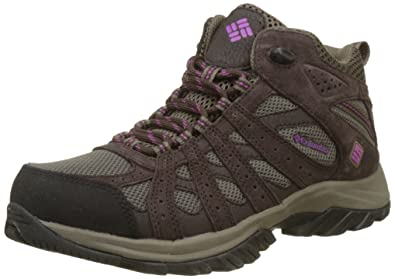 Columbia Damen Turnschuhe, Wasserdicht, Canyon Point Mid, Grau (Light Grey, Oxygen), Größe : 38.5