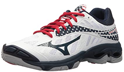 mizuno womens volleyball shoes size 8 x 2 inches video image