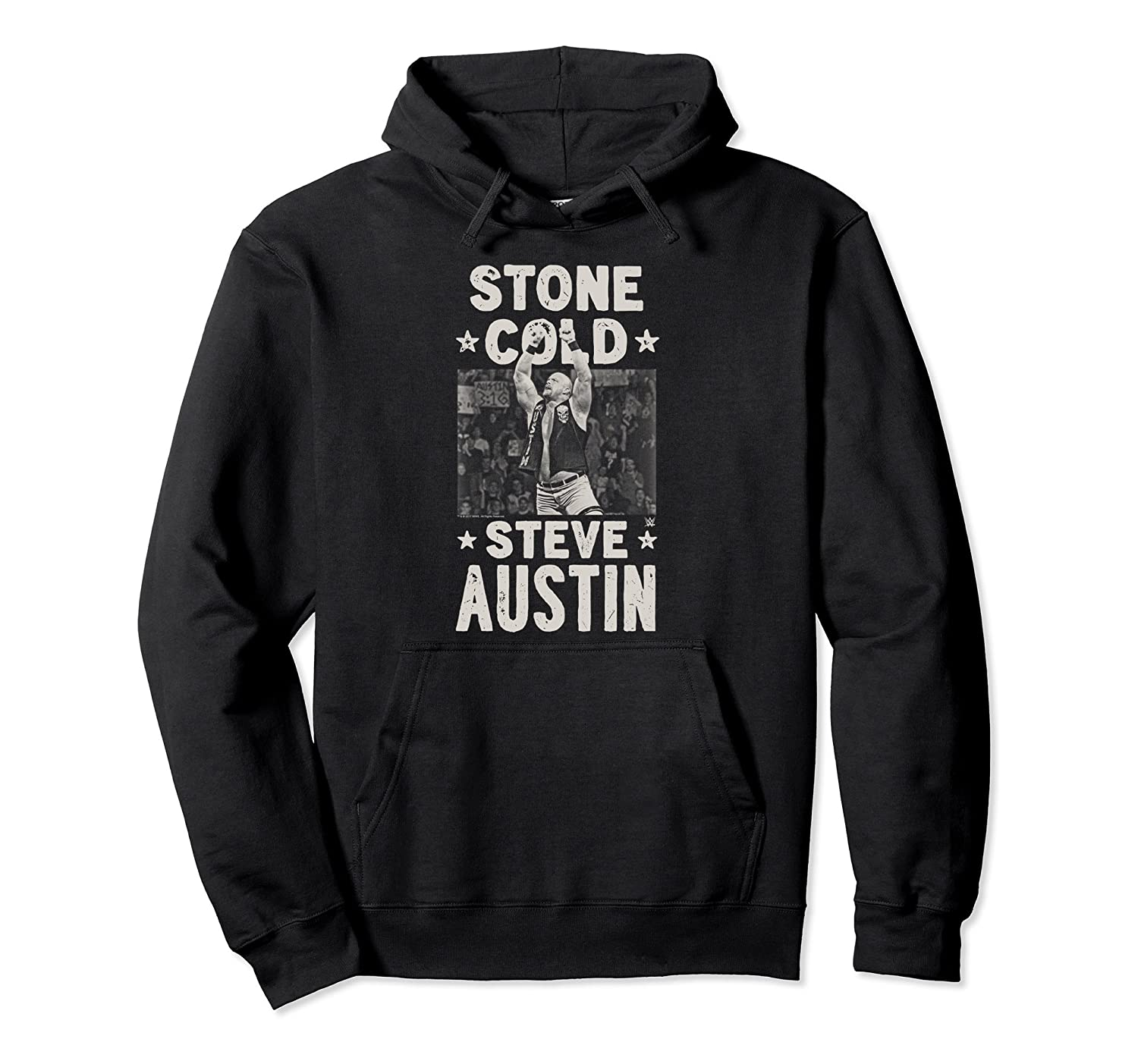 WWE Stone Cold Steve Austin 1 Color Arms Up-ah my shirt one gift