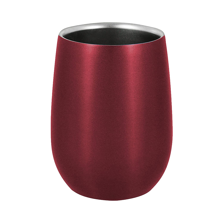 Oenophilia 302293 Omni Steel Cup Scarlet