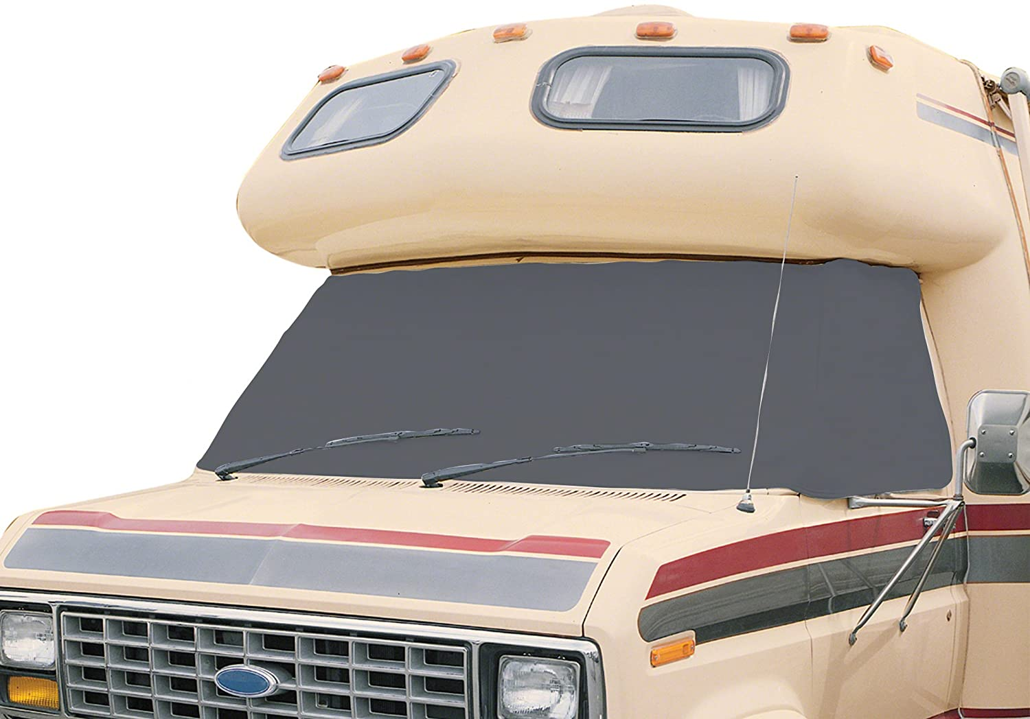 Classic Accessories 80-074-141001-00 OverDrive RV Windshield Cover, Grey, for Chevy/GMC '73-'96 for Chevy/GMC ' 73-' 96 CLA-80-074-141001-00