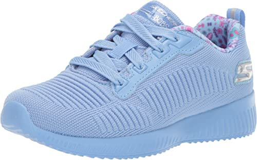 Skechers Bobs Squad Glam League Trainer in Blush | Sneakers
