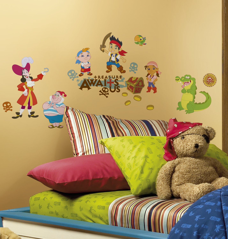 Amazon.com: Roommates Rmk1778Scs Disney Junior Jake And The ...
