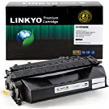 LINKYO Compatible Toner Cartridge Replacement for HP 80X CF280X (Black)