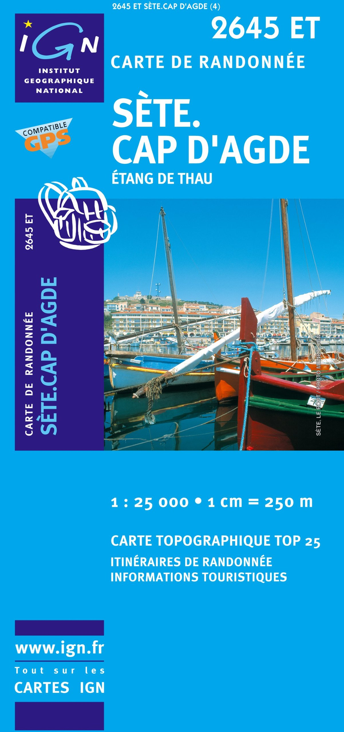 Sète / Cap d' Agde 1 : 25 000