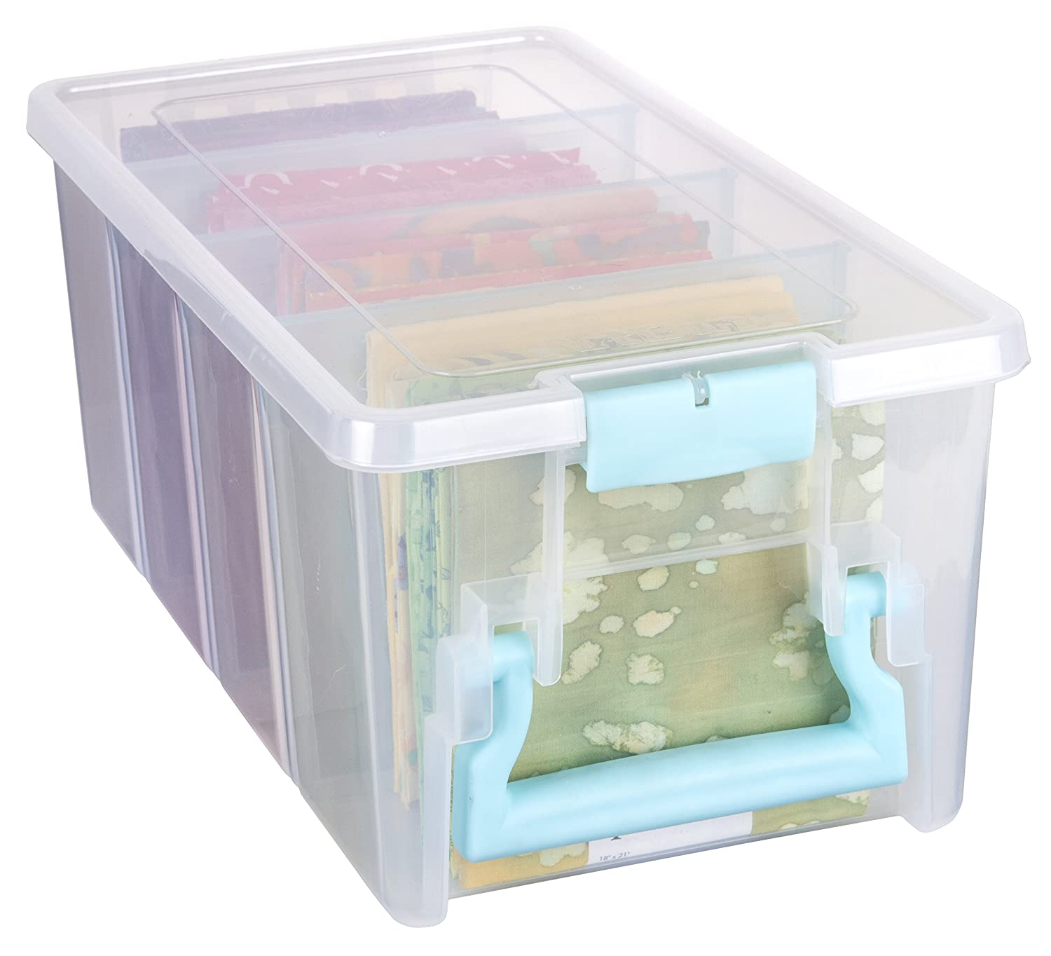 Amazon Artbin Super Semi Satchel Clear Art Craft Storage Box