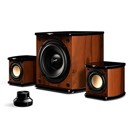Superb Swan Speakers   M20W   Beautiful Powered 2.1 Living Room Laptop Speakers    6u0027u0027