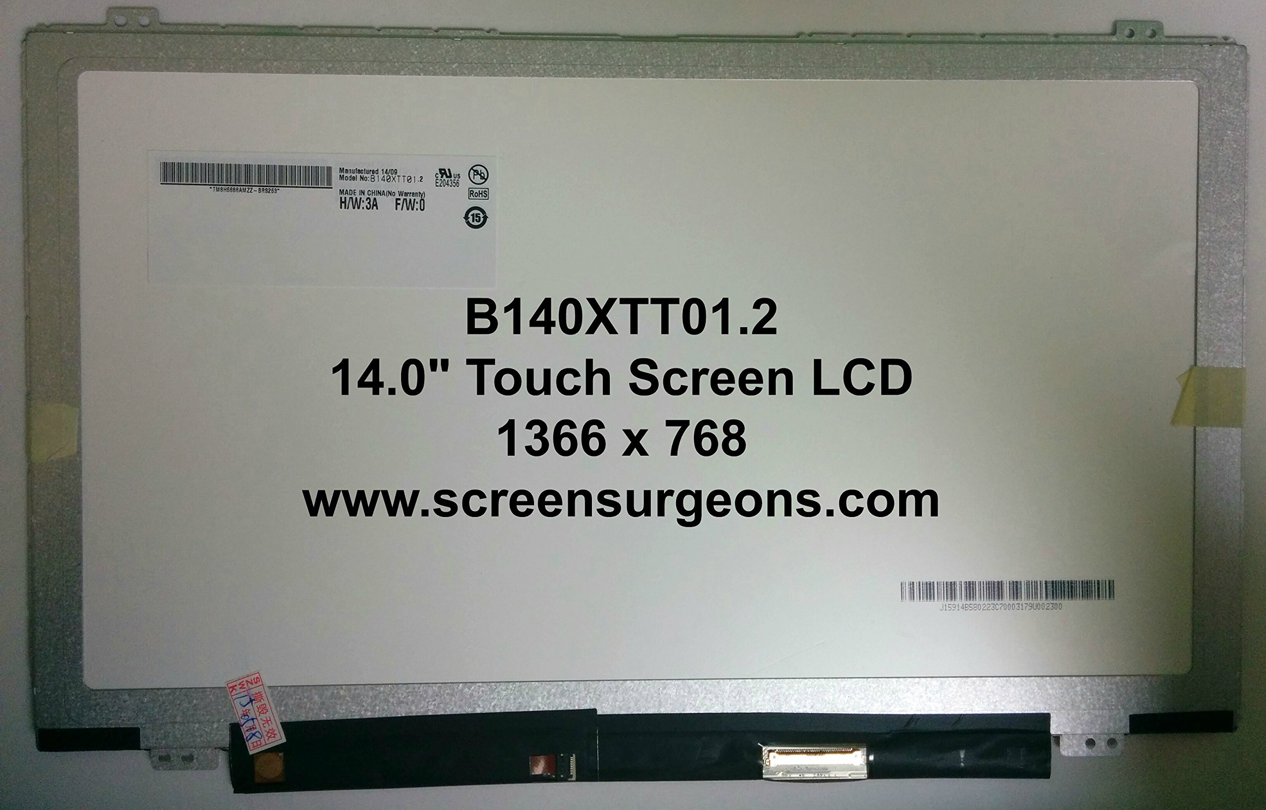 Dell Inspiron 14-5000 Replacement Touch Screen