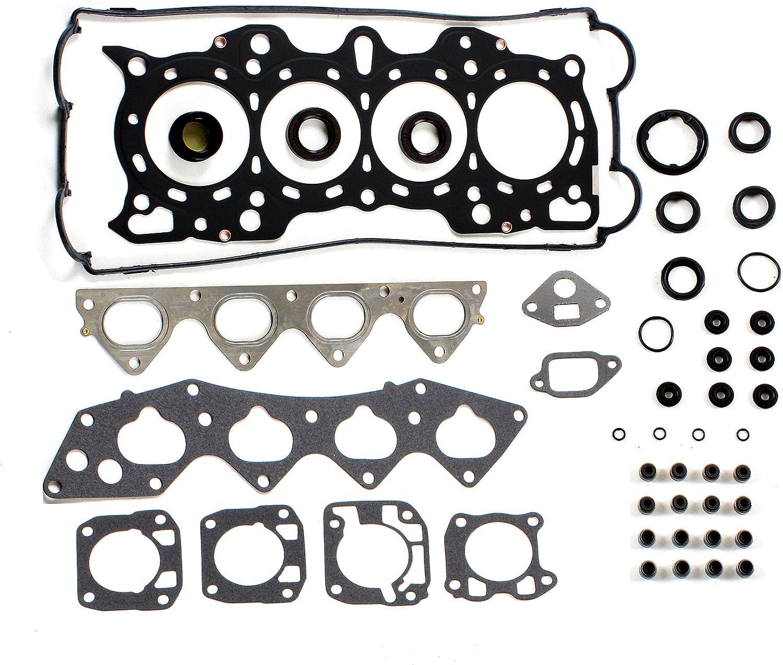 90-01 1.8L ACURA INTEGRA LS /& RS Head Gasket Set Non-VTEC DOHC 16V B18A1 B18B1