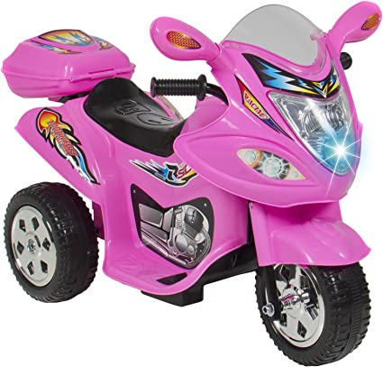 Amazon.com: Kids Ride On Scooter Ciclomotor Motocicleta 6 V ...