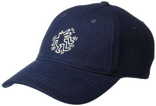 85d424c8 Lacoste Men's Graphic Pique Cap, Navy Blue ONE at Amazon Men's ...