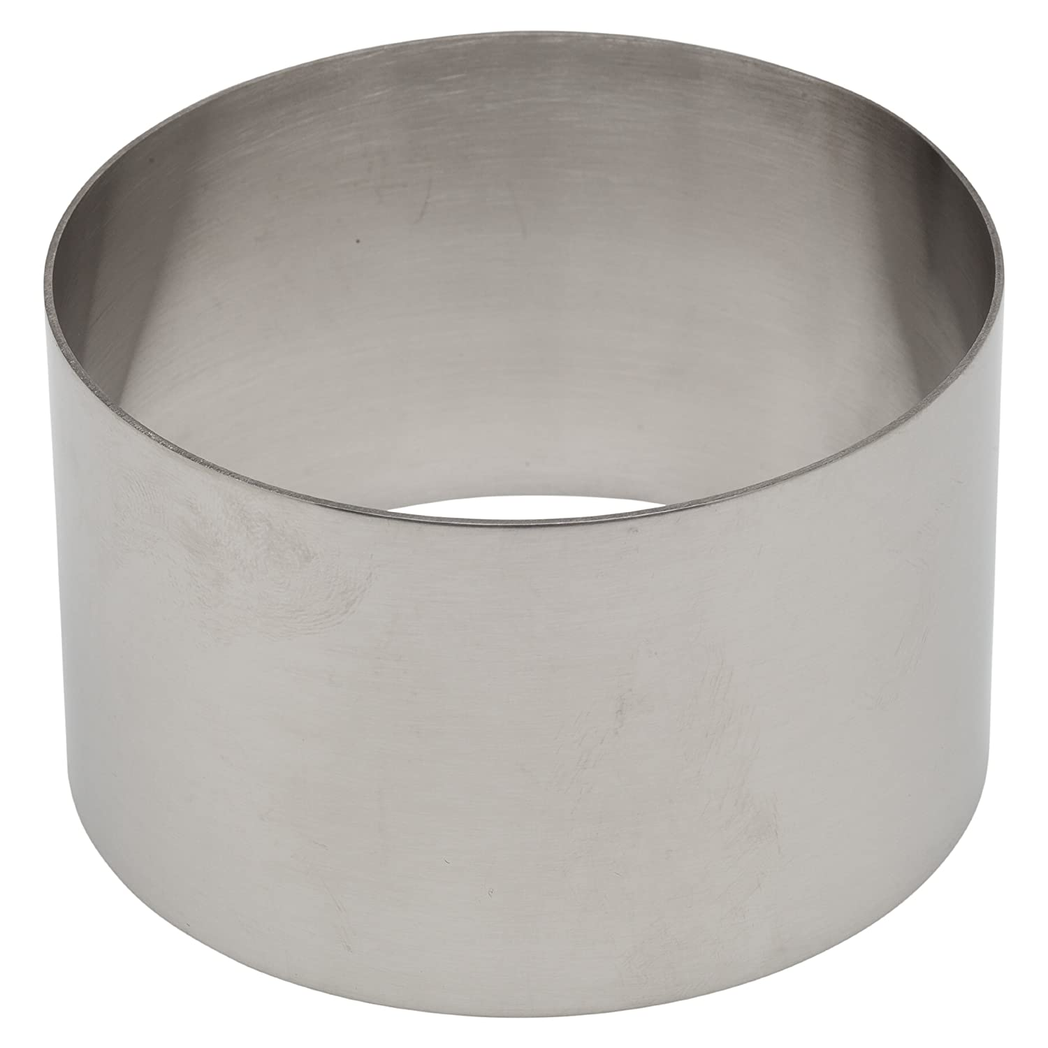 Ateco 4953 Stainless Steel Ring Mold, 3.5 by 2.1-Inches High, Compatible with 4952 Food Molding Set