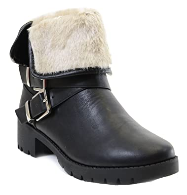 Boucle Femme Cuir Shearling Vegan Fourever Pour Funky Onkw0P